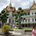 One of the royal palaces across from Wat Prakaew.